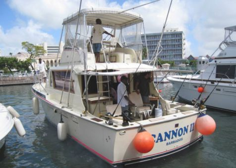 Cannon Charters Sports Fishing Boat